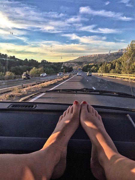 ultiem gevoel van een roadtrip met een Volkswagen camper