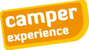 camper experience logo camperverhuurbedrijf met vw campers
