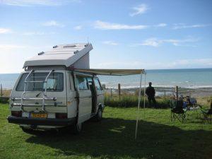 heerlijk met je camper aan zee kamperen