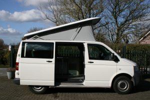 hefdak open voor VW camper verhuurbedrijf camper experience