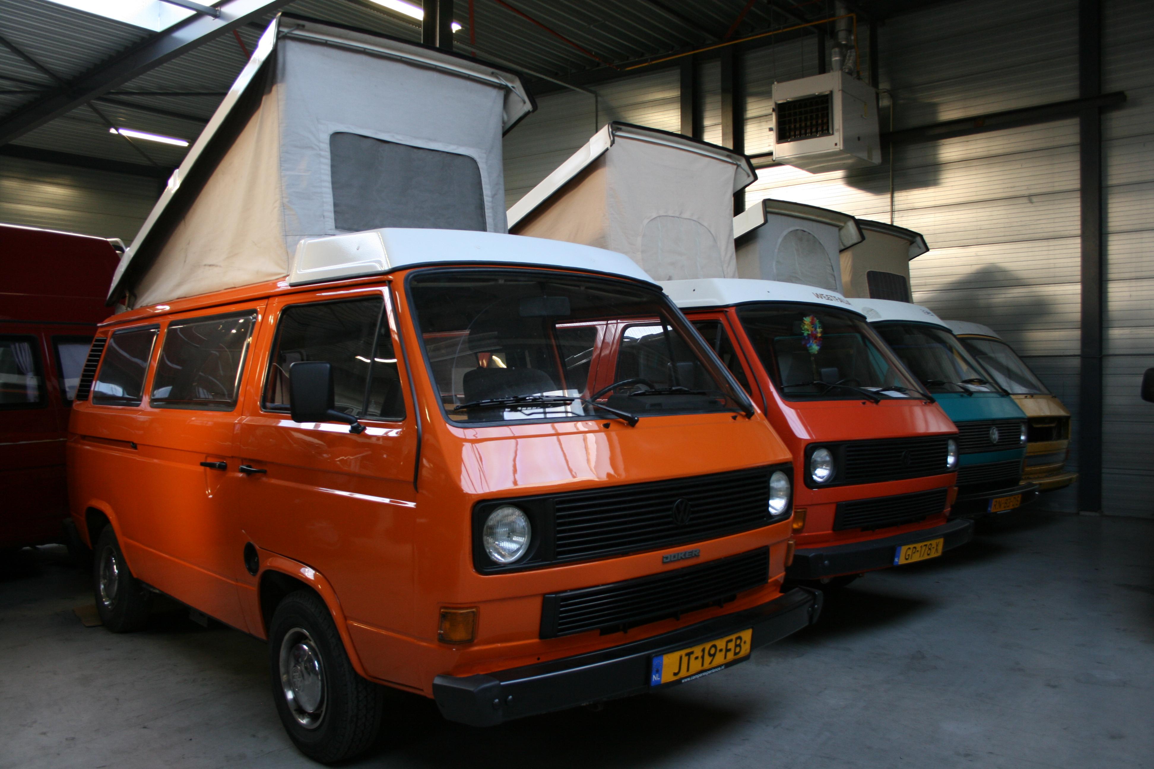 Camper Volkswagen Van 2017 >> Volkswagen T3 Westfalia Joker - Camper Experience